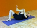 1 knee inward - ankle rotations